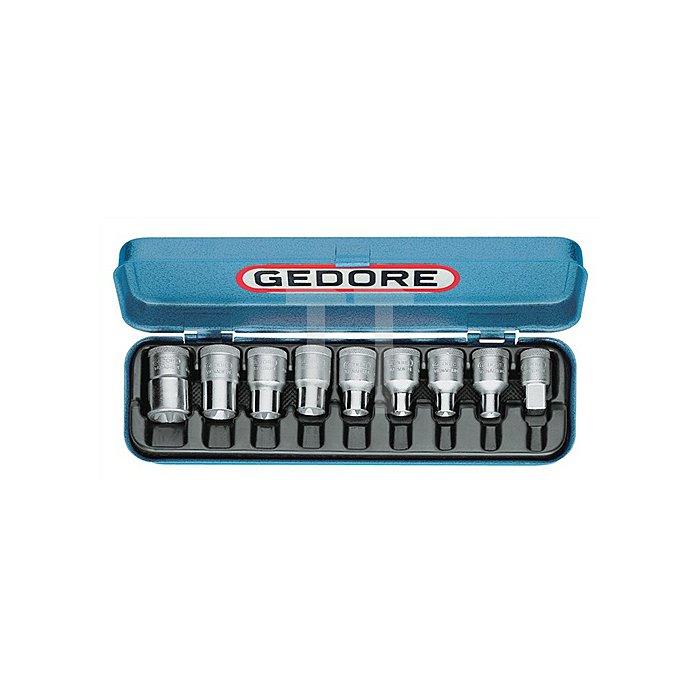 Steckschlüsselsatz CV. 8tlg. E10-E24 1/2Zoll GEDORE f.Außen-TORX