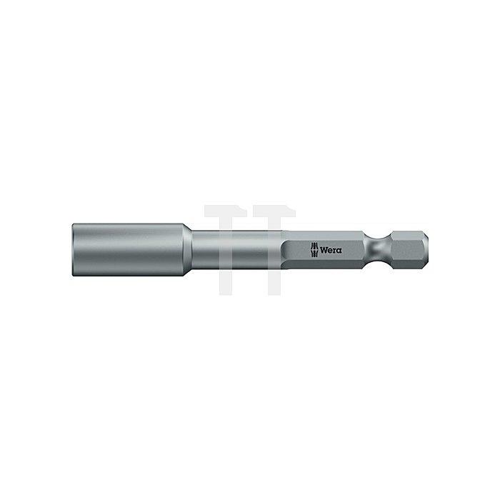 Steckschlüsselsortiment 8tlg.12 bis 13mm m.1/4Zoll 6kant Antrieb in Gürteltasch