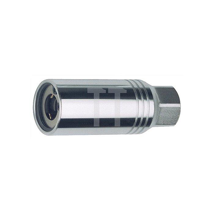 Stehbolzendreher, passend f. Bolzen-D. 10mm, Körper-D. 28mm, Gesamtlänge 75mm