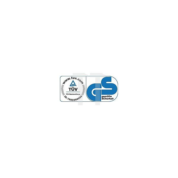 Stehhilfe Fin m.Wechselgleitern PU-Schaum blau Sitz-H.620-850mm BIMOS