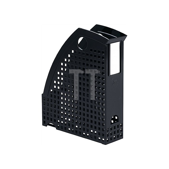Stehsammler schwarz f. Format DIN A4 B74xT244xH305mm