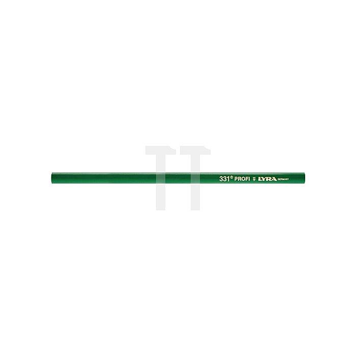 Steinhauerstift L.30cm oval grün lackiert pol. LYRA