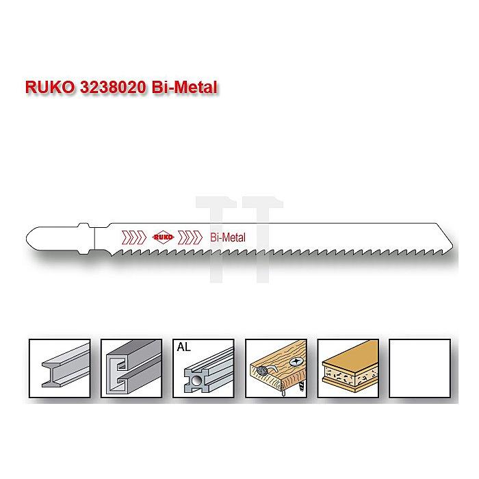 Stichsägeblatt 8020 HSS-Bimetall