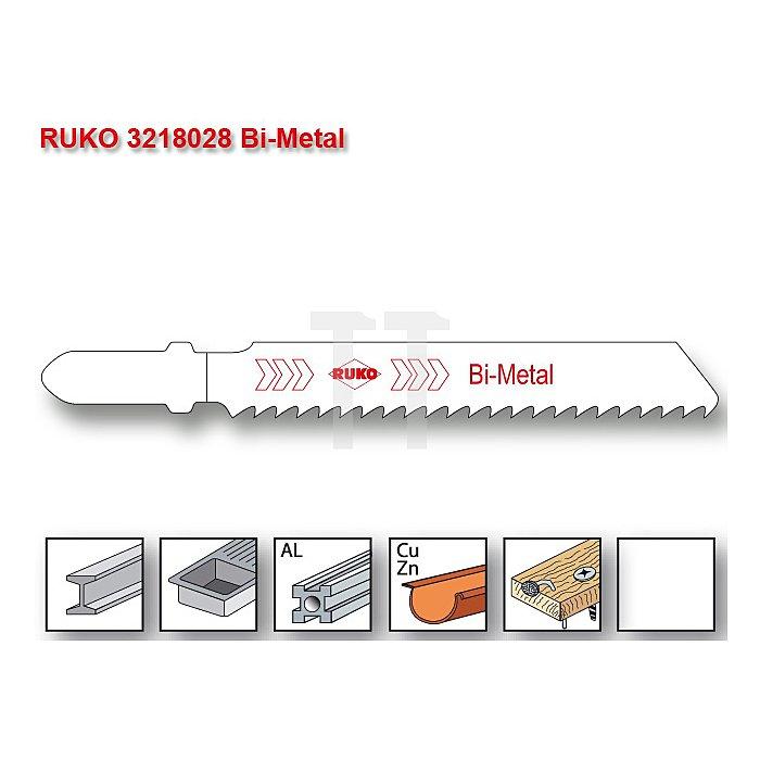 Stichsägeblatt 8028 HSS-Bimetall