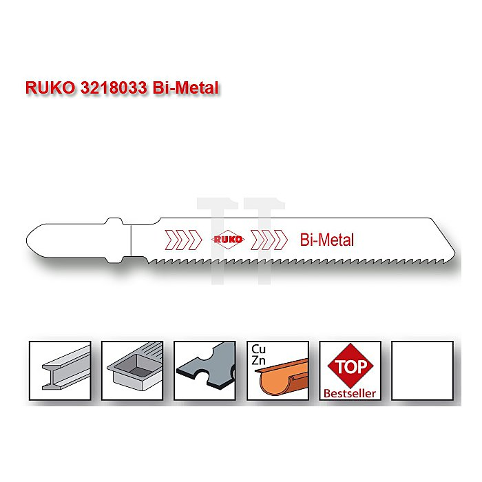 Stichsägeblatt 8033 HSS-Bimetall
