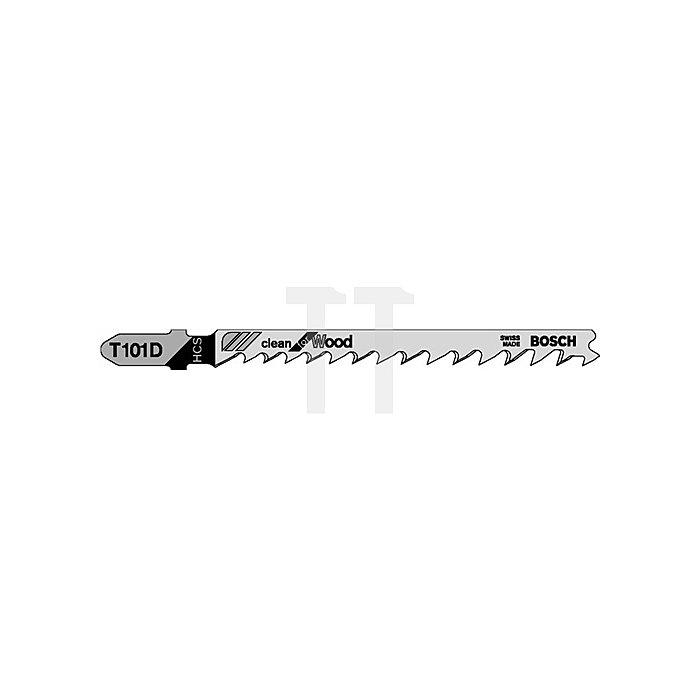 Stichsägeblatt L.74mm HCS Zahnt.4mm f.Weichholz/Spanpl.10-45mm BOSCH geschliffen