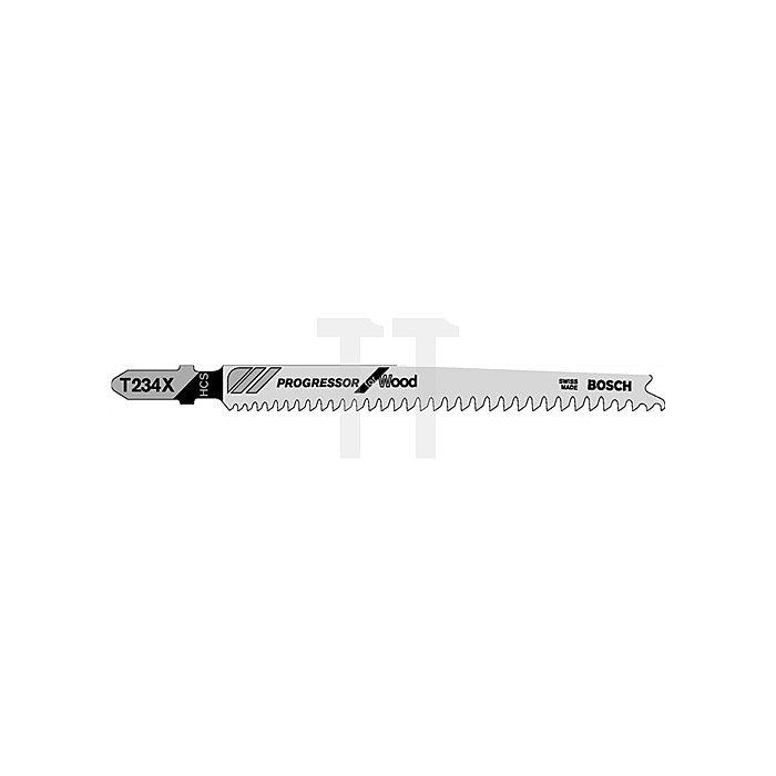 Stichsägeblatt L.91mm HCS Zahnt.2mm f.Weichholz/Spanpl.BOSCH geschliffen