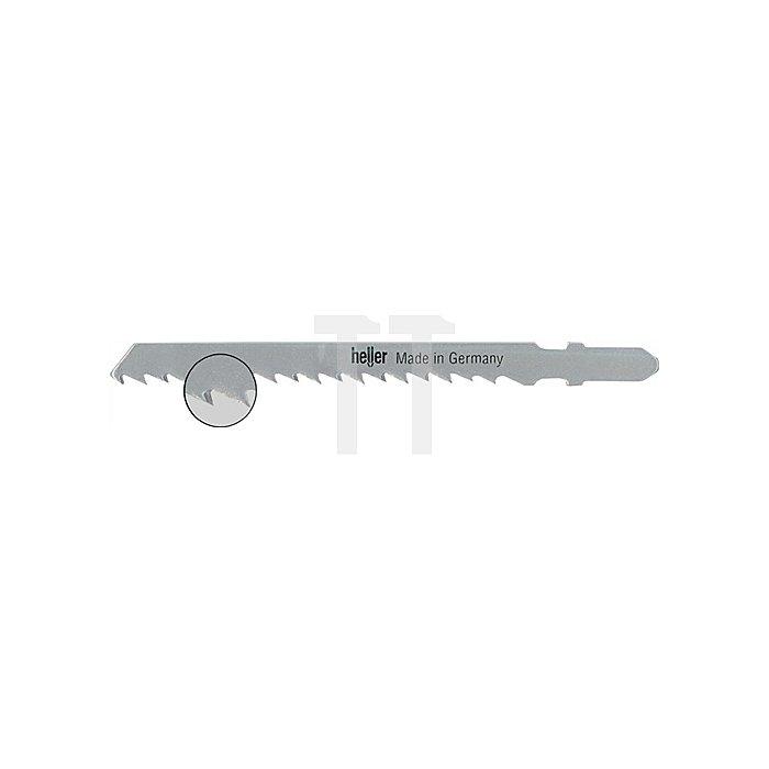 Stichsägeblatt verzahnte L.75,0mm Zahnt.3,0mm HSS f. NE-Metalle Karte m. 5 Stück