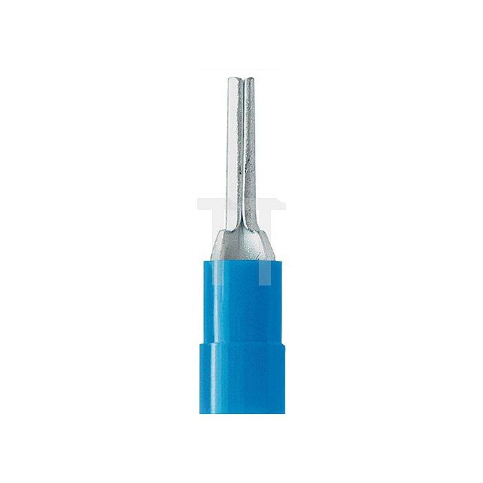 Stiftkabelverbinder blau 1,5-2,5mm2 WEIDMÜLLER 100St./Btl.