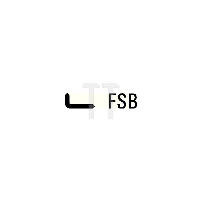 Stoßgriff FSB 6184 62 Alu.Ku. schwarz 90mm