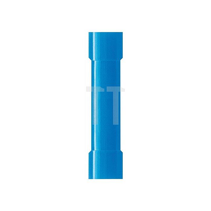 Stoßkabelverbinder blau 1,5-2,5mm2 WEIDMÜLLER 100St./Btl.