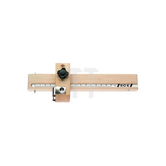 Streichmaß 0-150mm Kurvenanschlag ECE