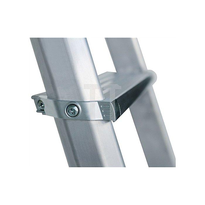 Stufenstehleiter ML Aluminium 3 Stufen beidseitig begehbar