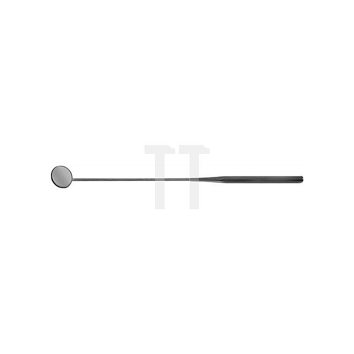 Suchspiegel D.24mm L.270mm Chrom m.Metalleinfassung