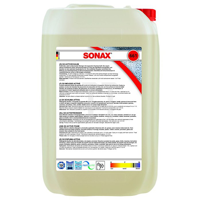 SX AktivSchaum 25 Liter