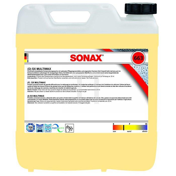 SX MultiWax Wachs 10 Liter