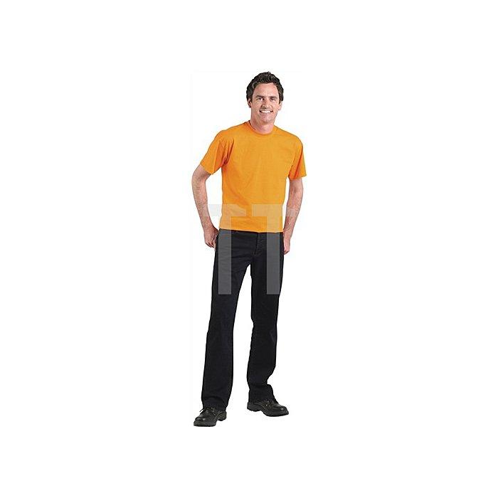T-Shirt Premium Gr.L graumeliert FRUIT OF THE LOOM 94%CO/6%PES