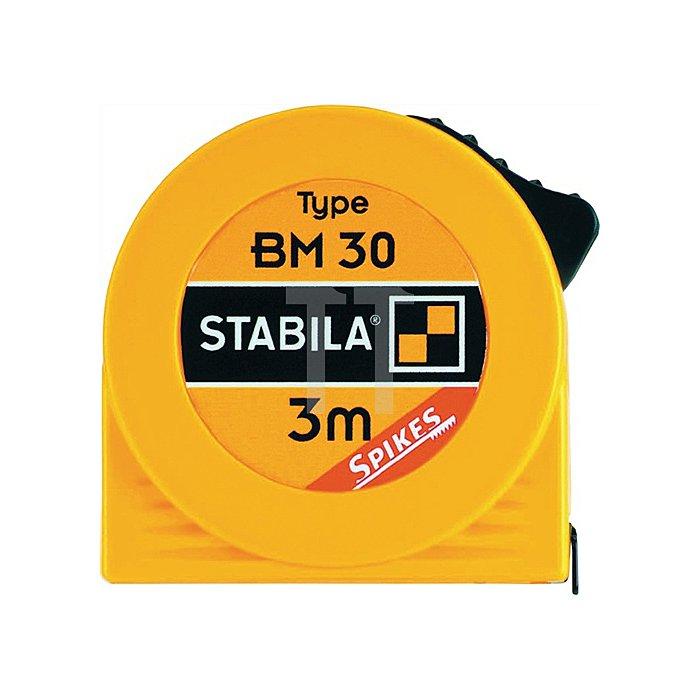 Taschenbandmaß BM30 Stahlband gelb 5m