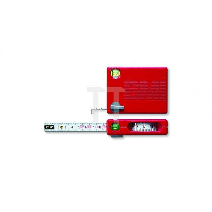 BMI Taschenbandmaß X4 Länge 3m weisslackiert 408341010