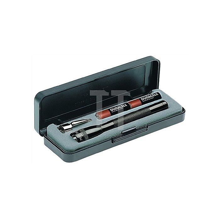 Taschenlampe Mini Mag-Lite AAA L.12,5cm sw MAG-LITE f.2Micro