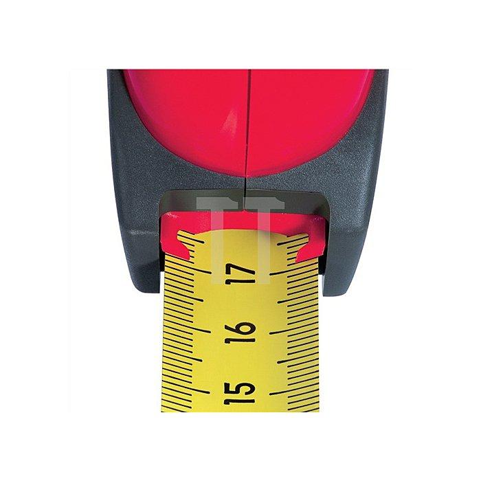 Taschenrollbandmaß BigT L.8m B.25mm gelb SOLA