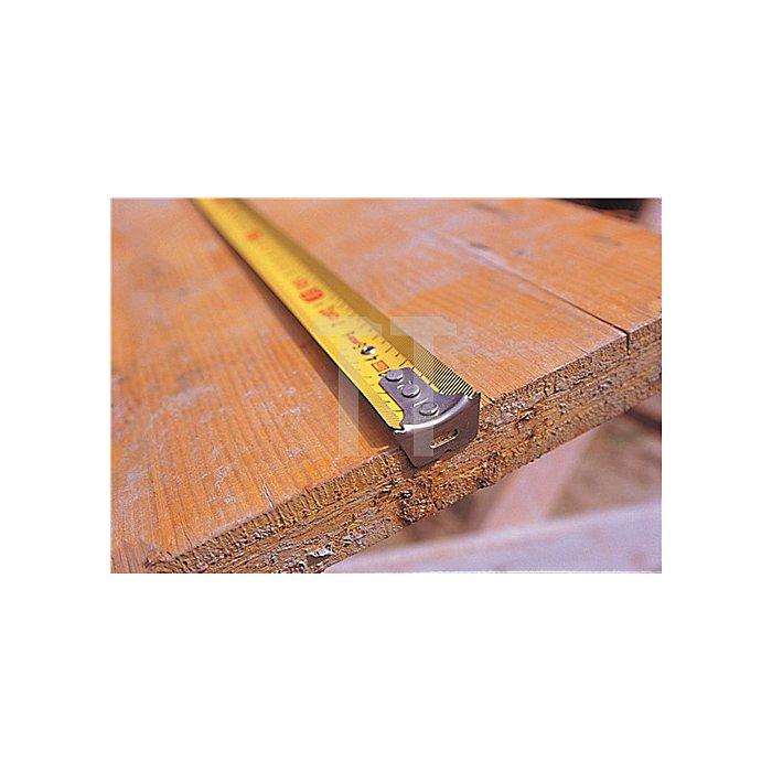 Taschenrollbandmaß TRI-MATIC L.5m B.19mm gelb SOLA