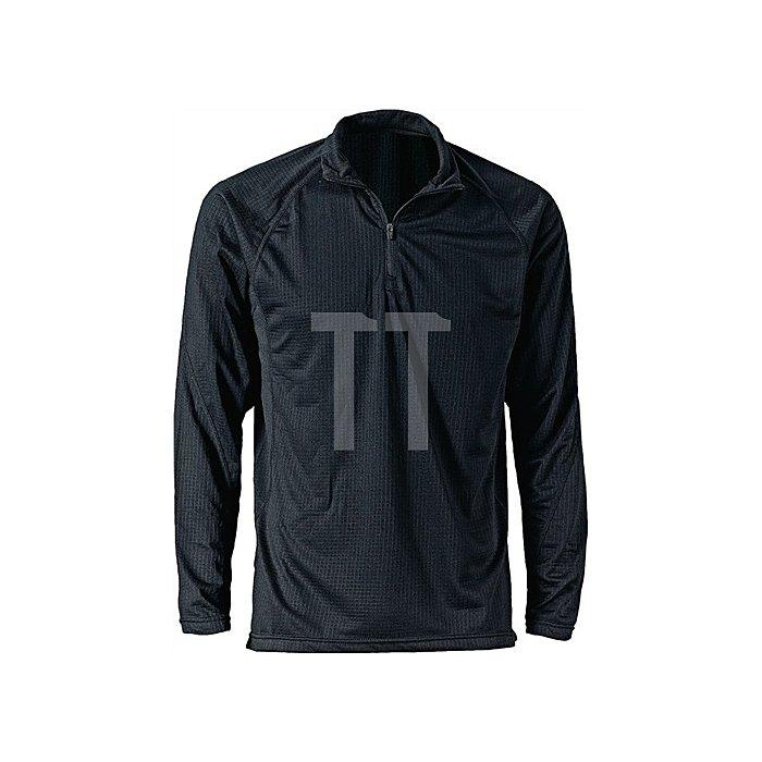 Thermo-Unterhemd Gr.L, schwarz, atmungsaktiv, bis - 15 Grad