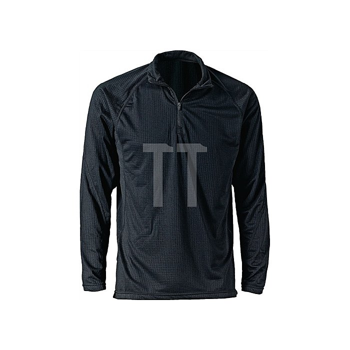 Thermo-Unterhemd Gr.XL, schwarz, atmungsaktiv, bis - 15 Grad
