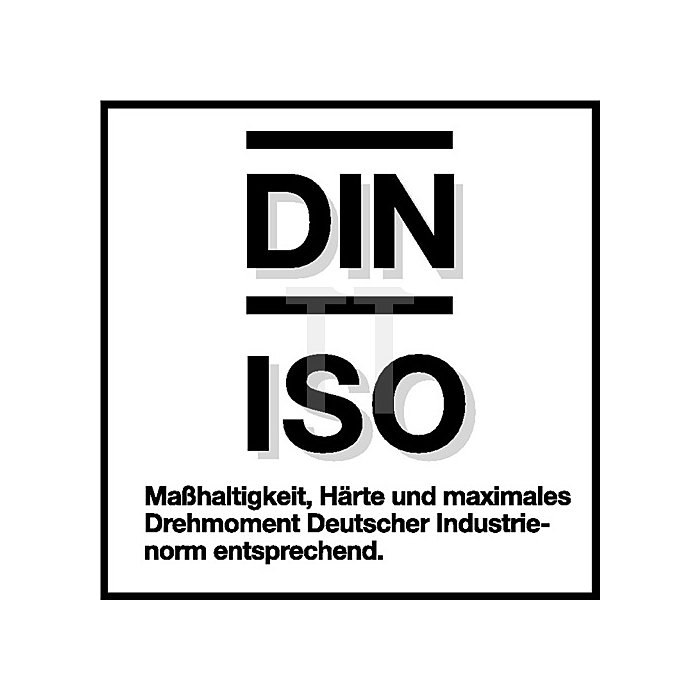 Tiefbettsteckschlüssel Einsatz SW13mm DIN3124/ISO2725 GEDORE 1/4Zoll 6KT