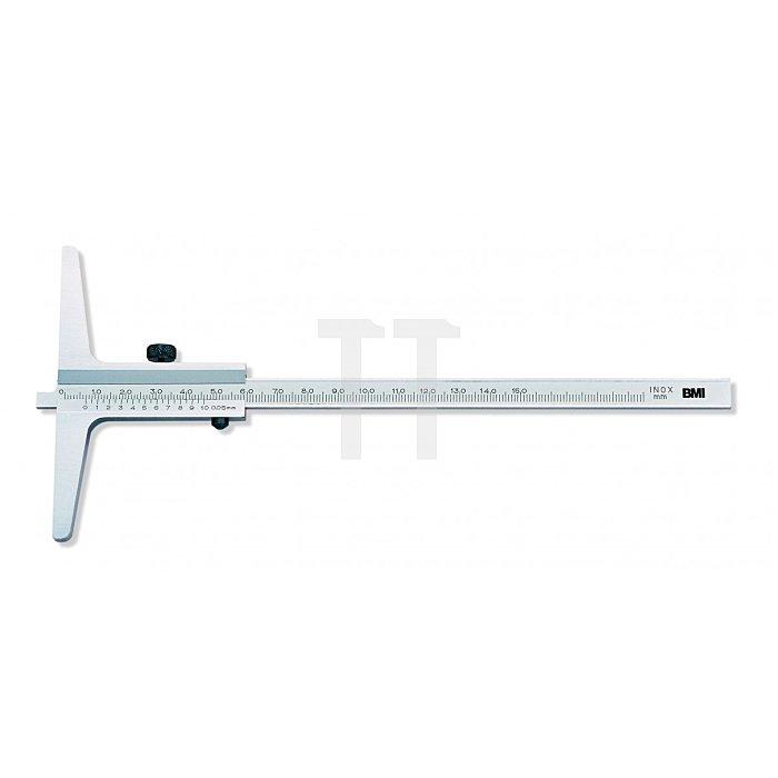 BMI Tiefenmesschieber, Messbereich 150mm 763150