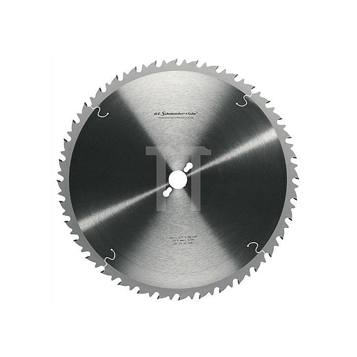 Tischkreissägeblatt LWZ 36Z. D.400mm B.3,5mm SCHUMACHER Bohrung 30mm