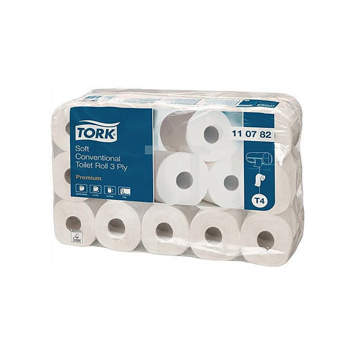 Toilettenpapier 3lagig Tissue hochweiss 250 Blatt f.Art.Nr.9000474220