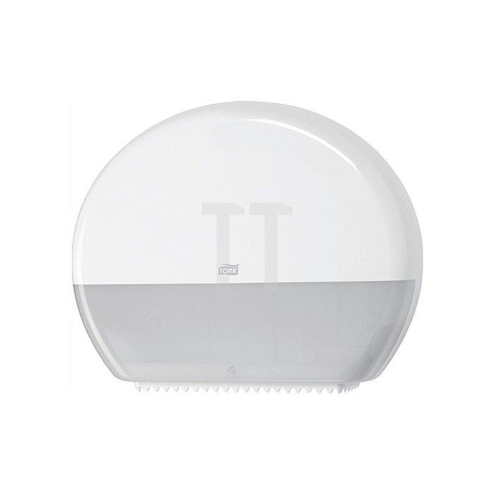 Toilettenpapierspender H360xB437xT133mm weiss f.Jumborollen