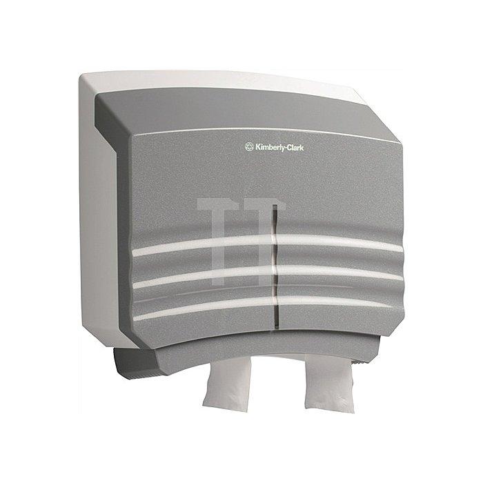 Toilettenpapierspender Jumbo Ripple Midi H.400xB.430xT.120mm f.9000474148/-149