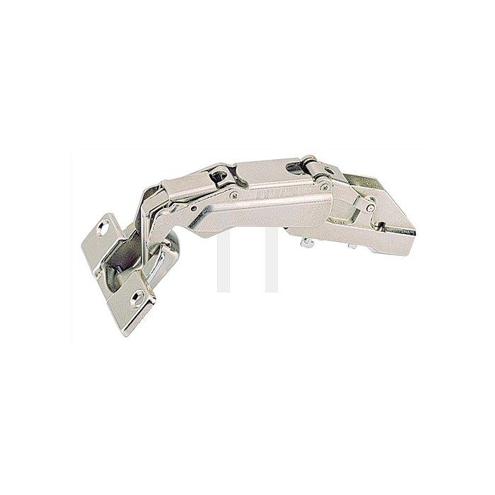 Topfband Intermat 9956 / 072947 Kröpfung 0mm Anschlag Seitenwand Stahl