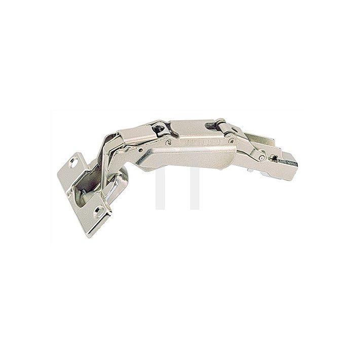 Topfband Intermat 9956 / 072961 Kröpfung 9,5mm Anschlag Mittelwand Stahl
