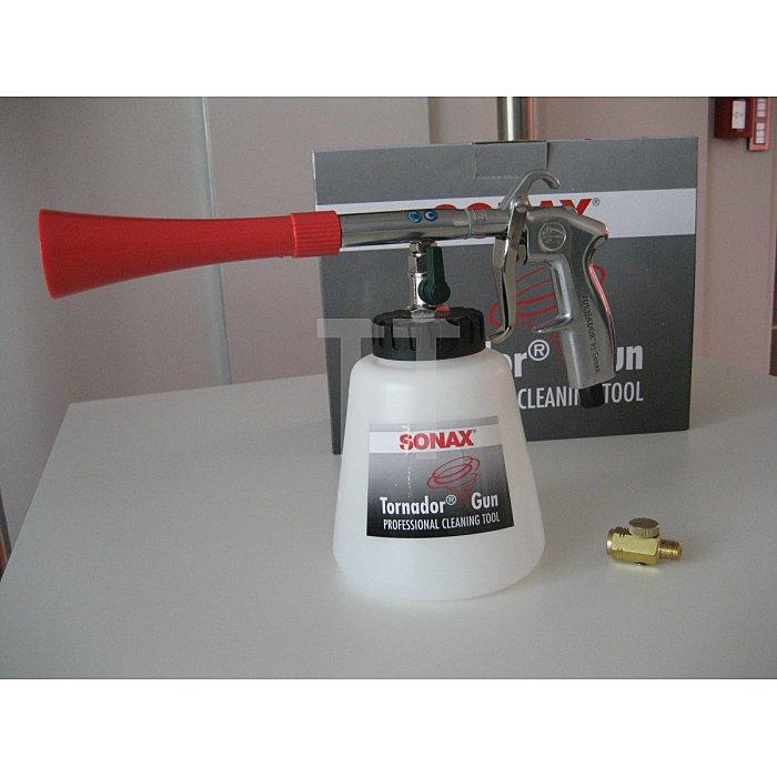Sonax Tornador Gun Reinigungspistole Saugbecher Pilstole Impulsreinigung