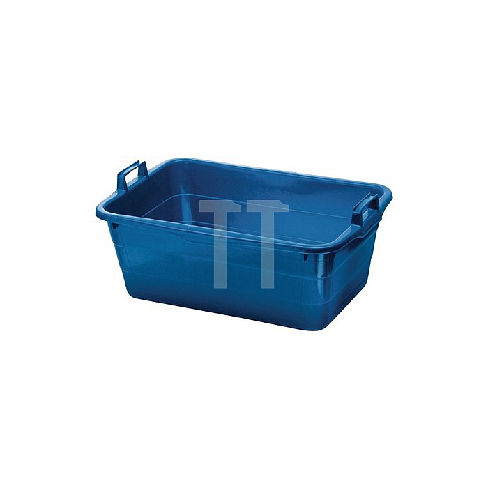 Tragewanne PE blau 620x425x250mm
