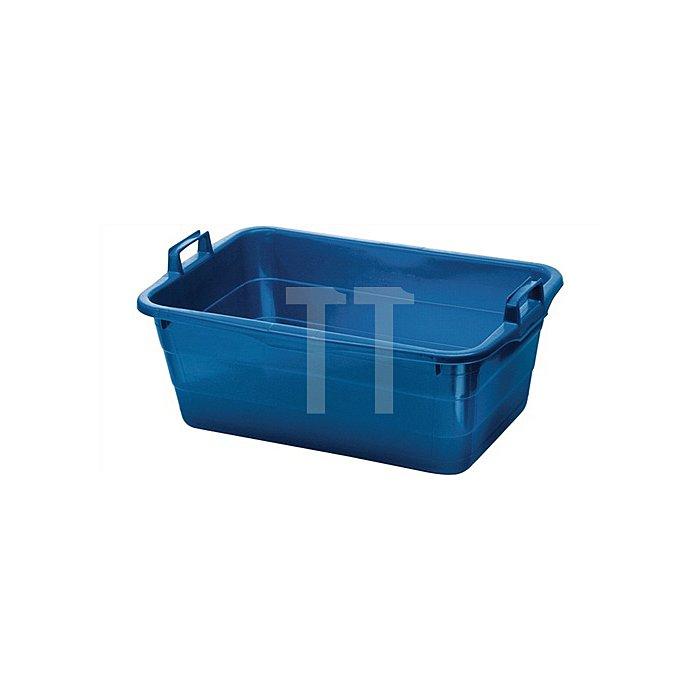 Tragewanne PE blau 800x535x300mm