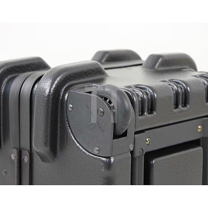 Transportkoffer mit Rollensystem Chicago-Case Bruchsicherer und Flugtaugl.