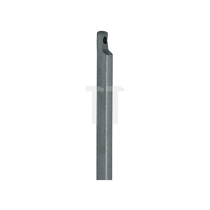 Treibriegelstange 13x1500mm mit Aussparung Stahl gelb chromatisiert