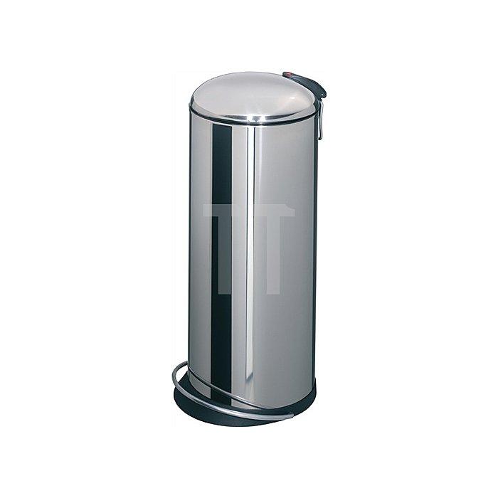 Tretabfallsammler 26l Stahl silber H.660xD.260mm