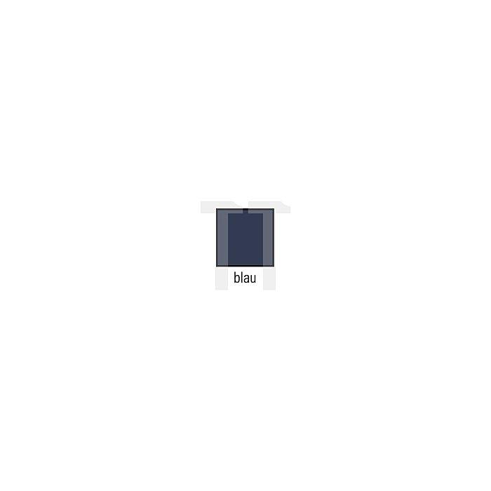 Truckerweste Gr.M blau 65%PES/35%CO m.PES-Füllung