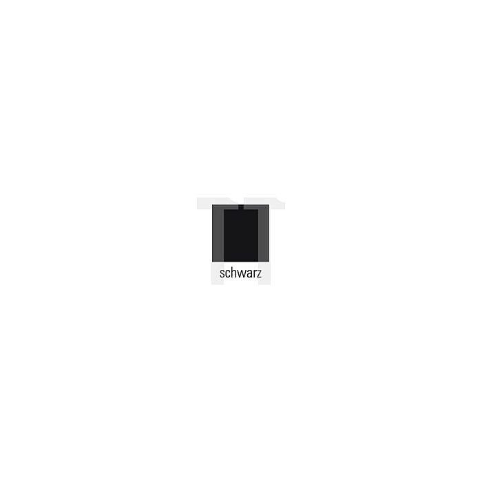 Truckerweste Gr.XL schwarz 65%PES/35%CO m.PES-Füllung
