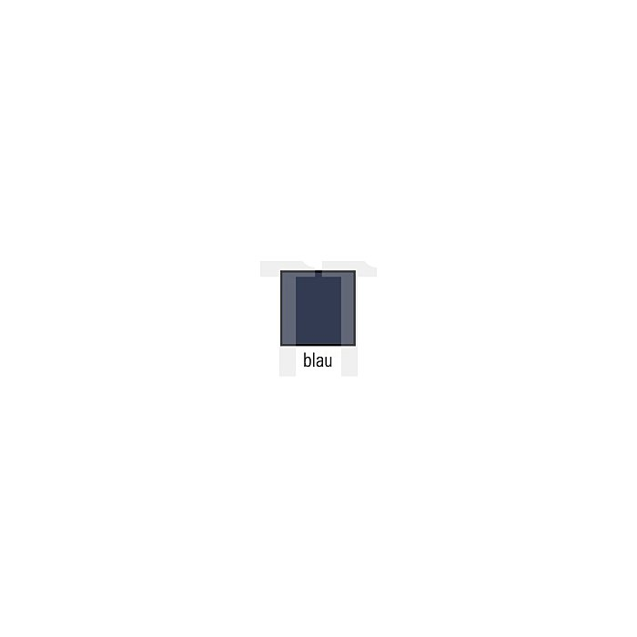 Truckerweste Gr.XXL blau 65%PES/35%CO m.PES-Füllung