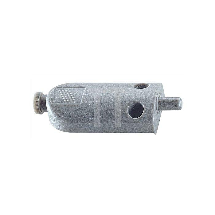 Türanschlagdämpfer Silent System zum Aufschrauben Kunststoff grau