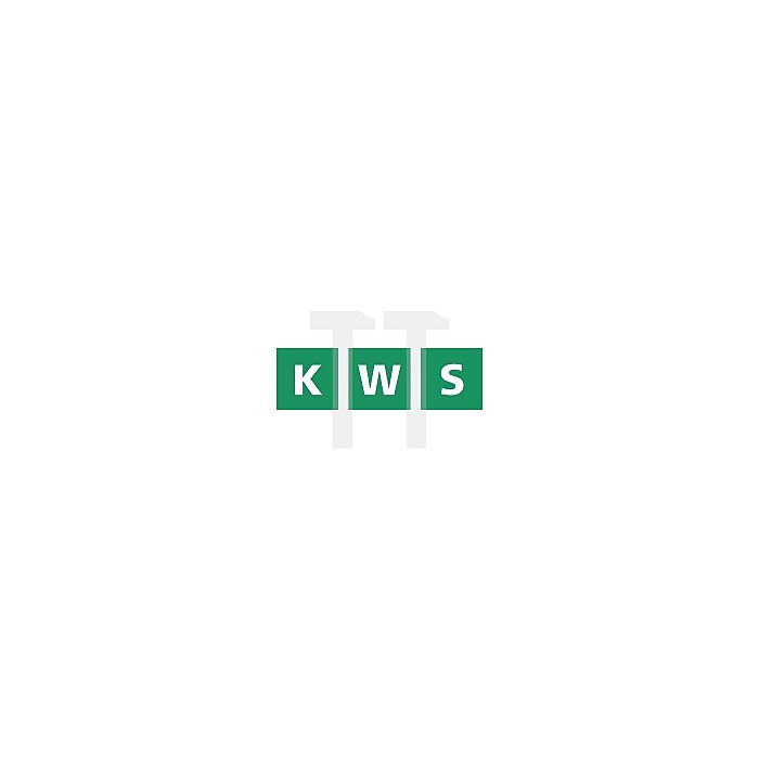 Türfeststeller KWS 1222.71 60mm Hub Alu.RAL9010 reinweiss Ku.besch.