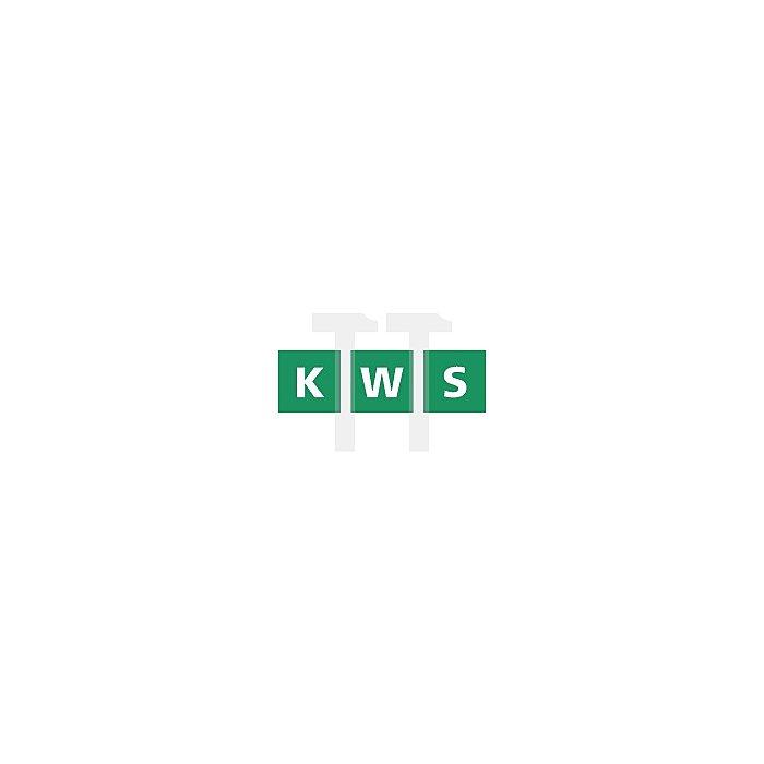 Türpuffer KWS 2024.31 z.Aufschrauben Alu.silberfarbig eloxiert