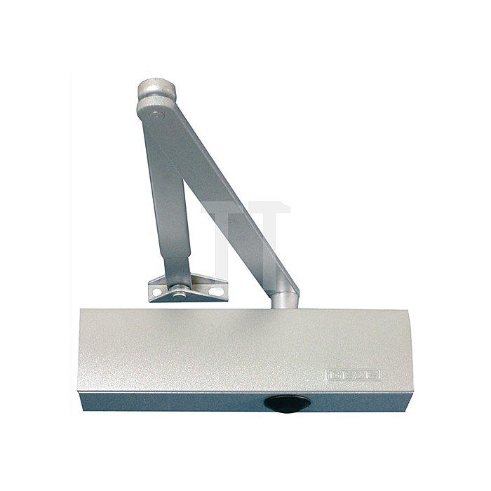 Türschließer TS 2000 V BC für Größe 2/4/5 silber mit Öffnungsdämpfung
