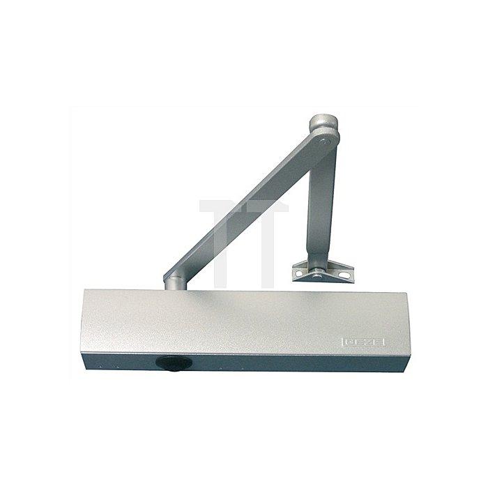 Türschließer TS 4000 S Größenbereich 1-6 silber mit Schließverzögerung